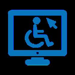 לוגו נגישות אתר