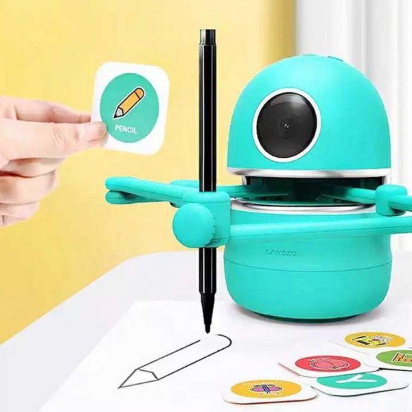 רובוט מצייר דפי צביעה