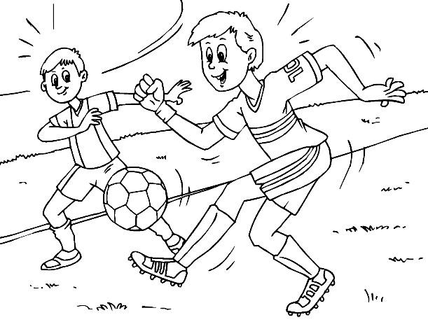 משחק צביעה אלוף הכדורגל