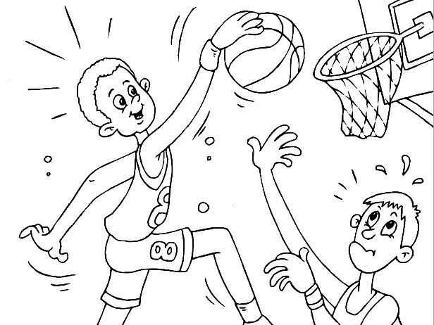 משחק צביעה אלוף הכדורסל
