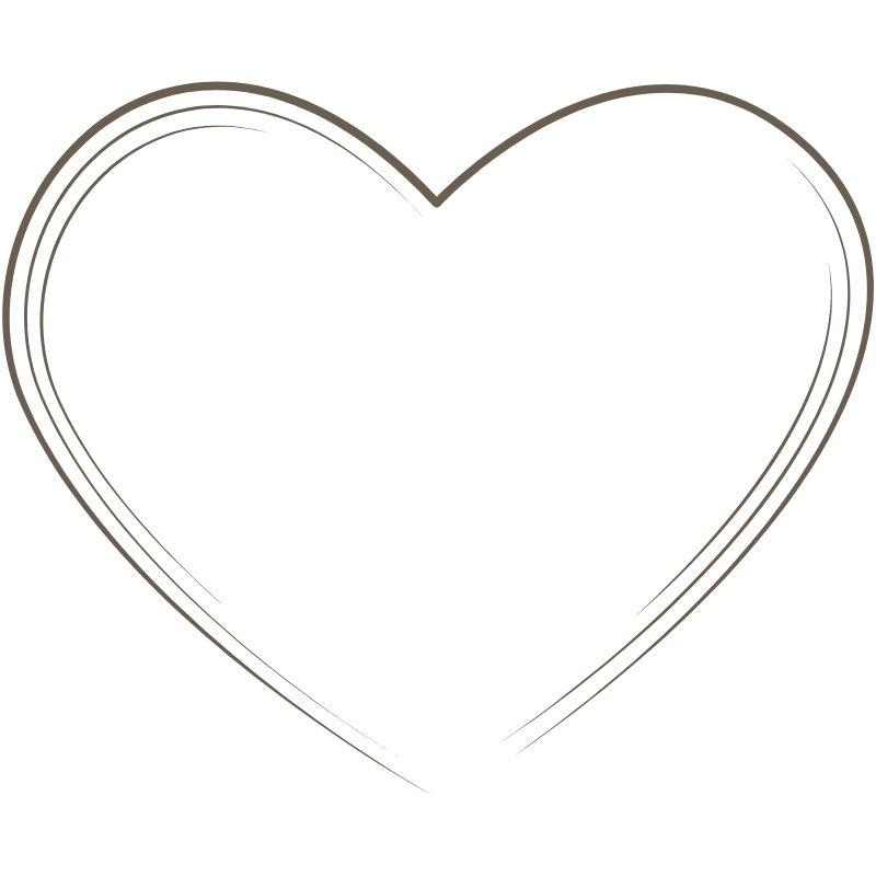 דף צביעה לב 4