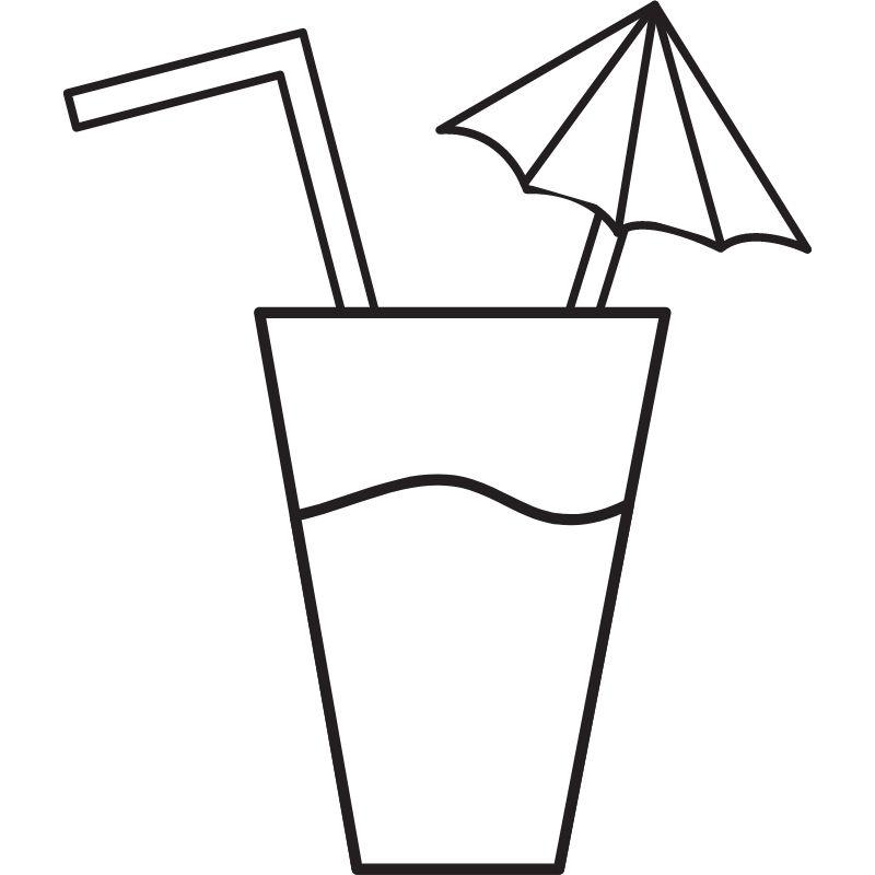 דף צביעה משקה קיצי