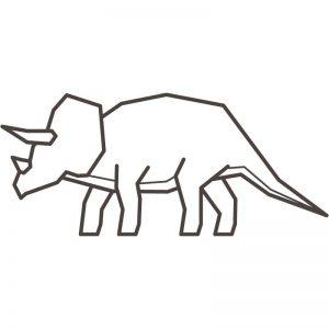 דף צביעה דינוזאור 5