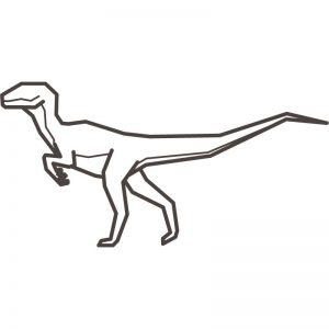 דף צביעה דינוזאור 7