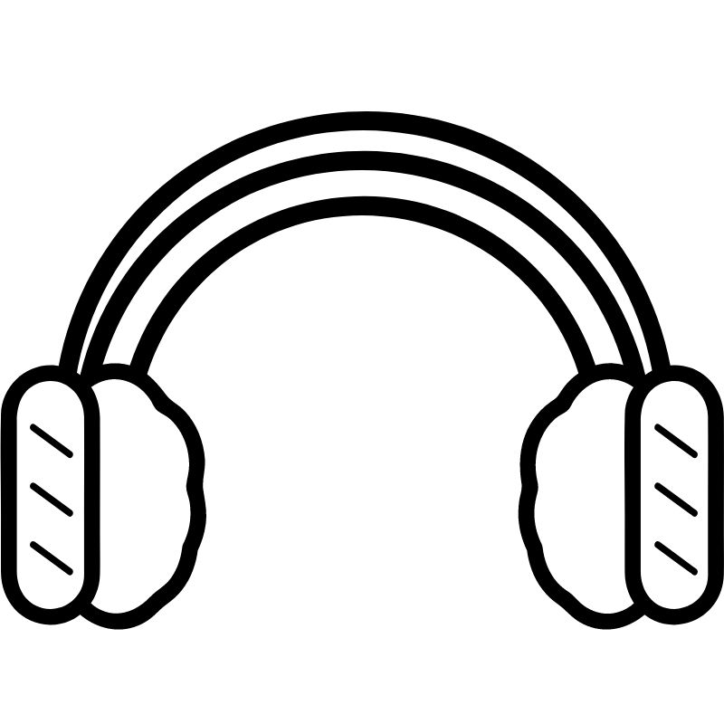 דף צביעה מחמם אוזניים